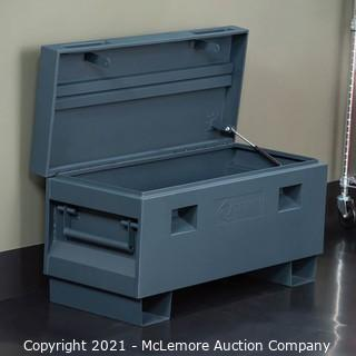 "TRINITY TXKPGR-0502 Job Site Box, 36"", Gray MSRP $199"
