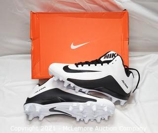 Nike Alpha Strike 2 3/4 TD Football Cleats sz 9