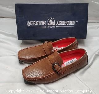 Quentin Ashford Driving Shoe sz 9.5