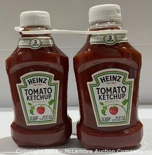 2-Pack Heinz Tomato Ketchup - 44oz each - NEW