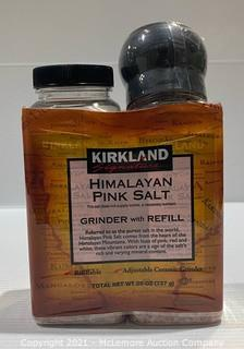 Kirkland Signature Himalayan Pink Salt Grinder w/ Refill - 26oz total - NEW (see description)