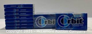 20-Count Wrigley's Orbit Peppermint Gum - NEW