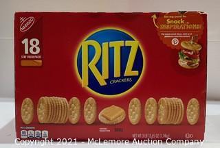 18 packs - Family Size Nabisco Ritz Crackers - NEW