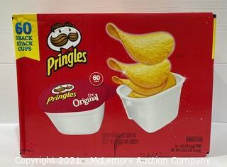 Family Size Original Pringles Snack Tubs - OPEN BOX