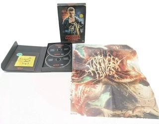 Stranger Things Season 1 Collector's Edition DVD + Blu Ray Set & Collectible Poster - NEW