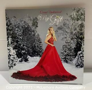 Carrie Underwood My Gift LP Record - LIKE NEW (cover shows light wear, see pics/description)