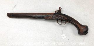 1900 Replica Flint Lock Muzzle Load Dueling Pistol