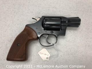 Colt 38 Detective Special Revolver