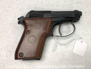 Beretta 22LR Model 21A with Canvas Camo Holster