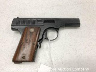 Rare Smith & Wesson 32 Caliber Automatic Pistol, 1 of Only 958 Made