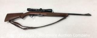 Winchester 308 Caliber, Model 100 Semi Automatic Rifle with Weaver 6xBanner F by Bushnell Scope