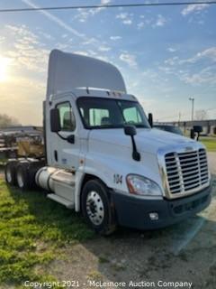 2011 Freightliner Cascadia Daycab Truck Tractor VIN 1FUJGEDV9BLBC2397