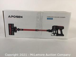 APOSEN Cordless Vacuum Cleaner, 24000Pa Strong Suction, 4 in 1 Stick Vacuum Cleaner Detachable Battery, 250W Powerful Brushless Motor, 1.2L Super-Capacity for Deep Cleaning Carpet Hard Floor H250(Red) Missing Attachments