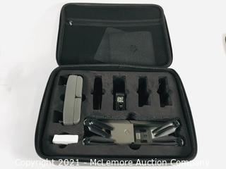 Vivitar DRC-LSX10 VTI Phoenix Foldable Drone & 2 Pack Battery-DRCLSX10 Replacement Battery Missing Batteries