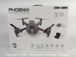 Vivitar VTI Phoenix Foldable HD Camera Drone with GPS and Follow Me Feature