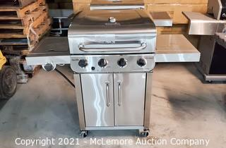 Char-Broil Performace Liquid Propane Gas Grill with Side Burner