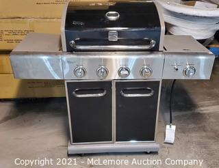 Kenmore Liquid Propane Gas Grill with Side Burner