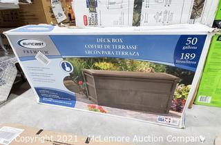 Suncast Premium 50gal Deck Box