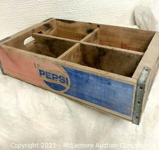 Wooden Pepsi Case & Primitive Wood Case
