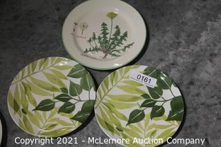 Williams Sonoma and Pottery Barn Plates
