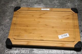 Sabatier 12 x18 Bamboo Cuttin Board