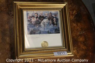 Signed Seal of Tennessee Print
