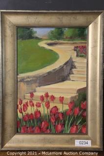 Original Oil on Canvas by Leslie McCallen Gilbert