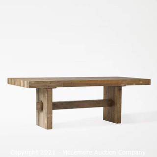 """Emmerson Dining Table, 87"""", Reclaimed Pine"""