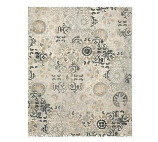 Talia Hand Loomed Wool Rug, 8x10', Gray Multi