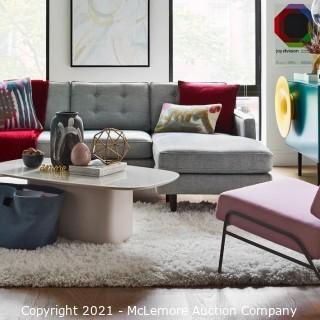 Cozy Plush Rug, White, 6'x9'
