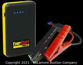 Schumacher Everstart 400 Amp 6000 mAh Lithium Jump Starter with Smart Cable Clamps and Micro USB to USB Charging Cable