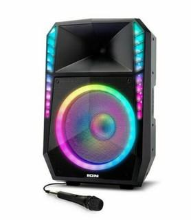 ION Total PA Supreme High Power Bluetooth PA System with Lights 500 WATT