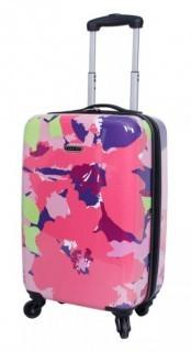 PRODIGY TEAL/PINK FLORAL SUITCASE