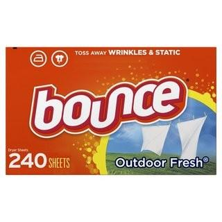 BOUNCE OUTDOOR FRESH FABRIC SHEETS 240 COUNT