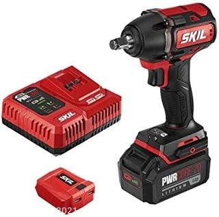 IMPACT WRENCH WITH CHARGER & BATTERY