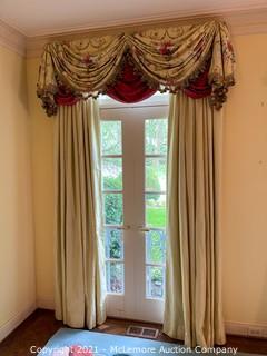 (2) Fine Window Treatments