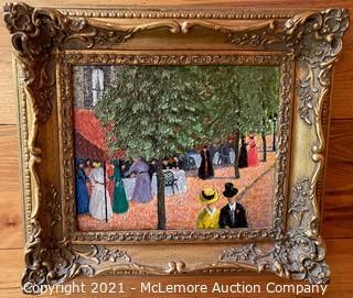 Framed Painting by O.G. Bain