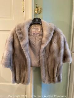 Fur Stole by Billie Lebow