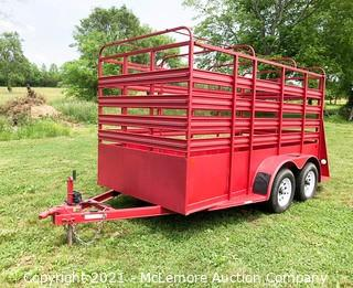 2008 Carry On Trailer Dual Axle 12' Stock Trailer  - Bill of Sale