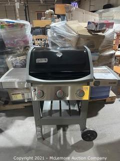 Weber Spirit II E-310 3-Burner Liquid Propane Grill, Black - MSRP $519.99