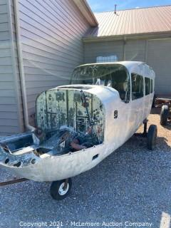 Cessna Airplane Aluminum Fuselage Body