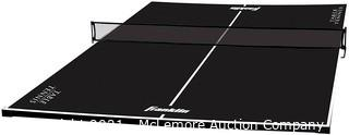 Franklin Sports Table Tennis Conversion Top - Official Size Table - Easy Assembly - Perfect for Dining Tables, Pool Tables, and Countertops - 9' X 5'