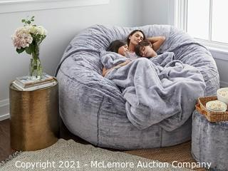 The BIGGEST ONE Slipcover - Wombat Phur - 100% Polyester, Machine Washable