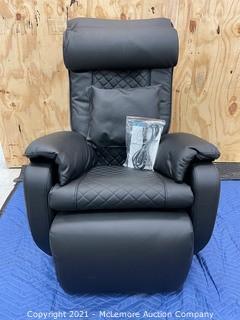 TruMedic InstaShiatsu+ MC-2100 3D S-Track Massage Chair with Shiatsu, Zero Gravity, BLACK - MSRP $4600 - (BRAND NEW)
