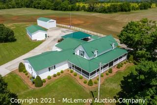 Home, Garage, RV Garage and Additional Outbuilding on 9± Acres