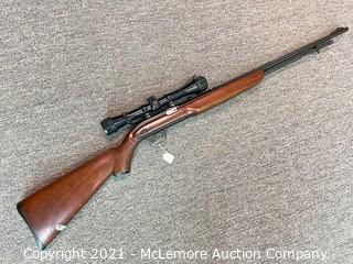 J.C.Higgins .22LR Rifle with Scope