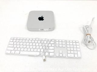 Apple MacMini A1347 with Keyboard