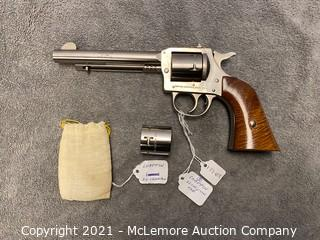 H&R Model 650 .22 Caliber Pistol with Extra Cylinder S/N AP55426