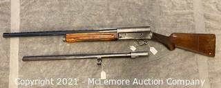 Browning Light Twelve Auto-5 12 Gauge Shotgun with Extra Barrel S/N G10727