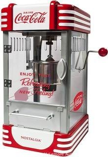 Coca-Cola 2.5-Ounce Kettle Popcorn Maker Red